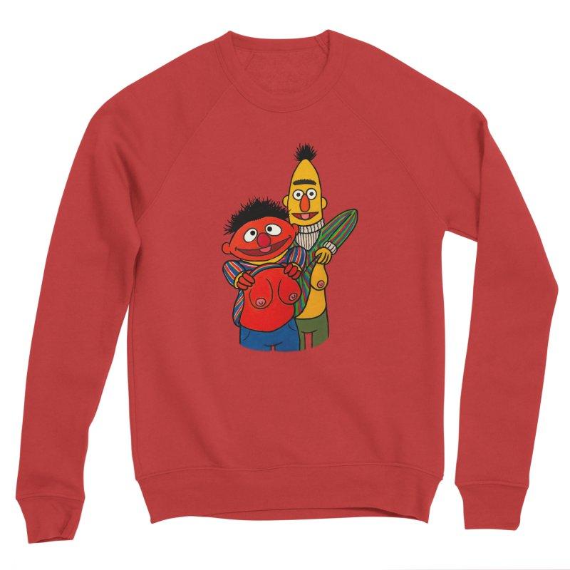 E and B flash Men's Sponge Fleece Sweatshirt by Jim Tozzi