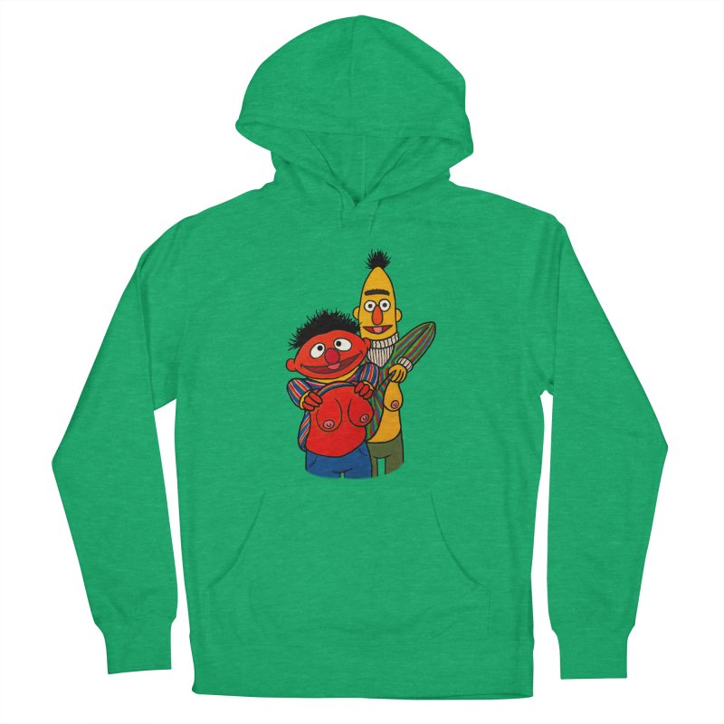 E and B flash Men's French Terry Pullover Hoody by Jim Tozzi