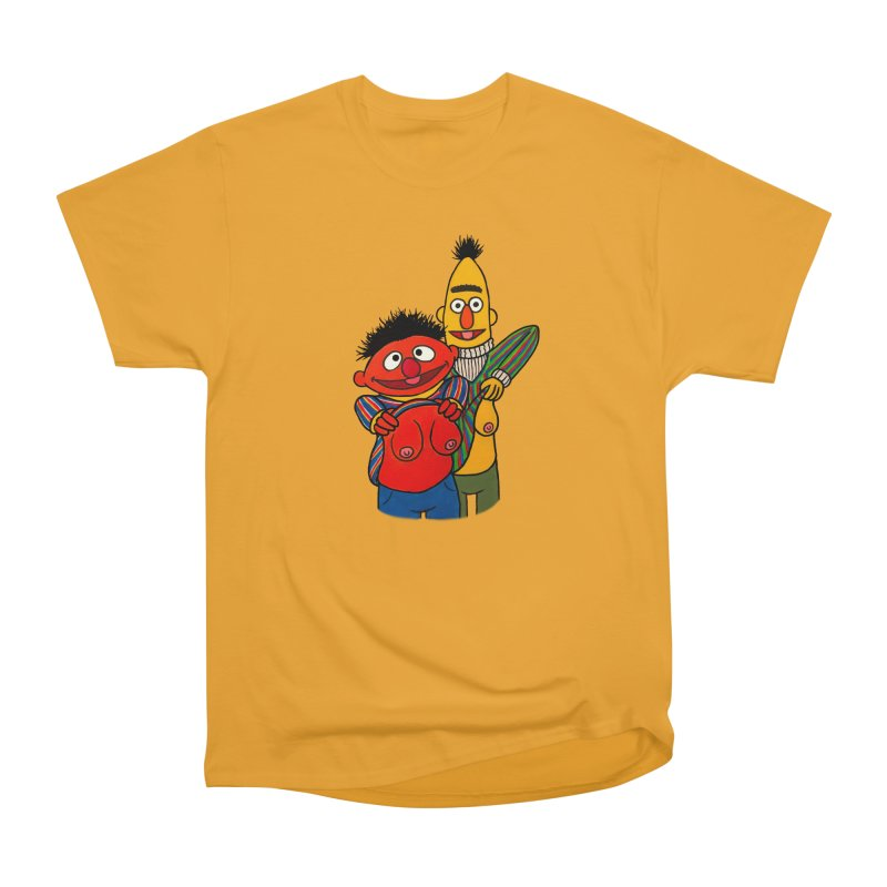 E and B flash Men's Heavyweight T-Shirt by Jim Tozzi