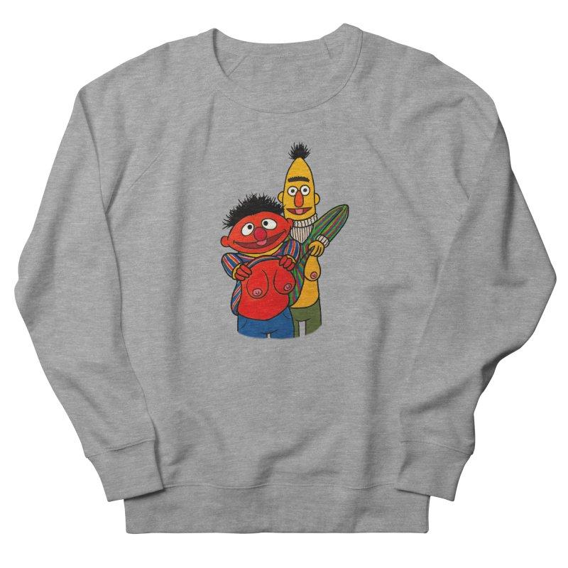 E and B flash Men's French Terry Sweatshirt by Jim Tozzi