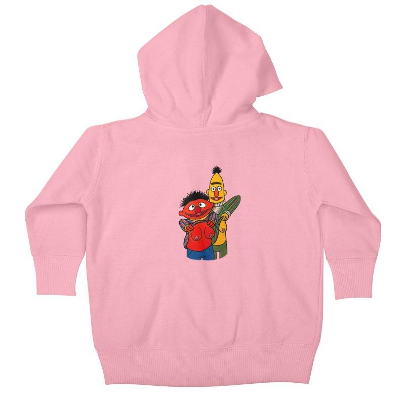 E and B flash Kids Baby Zip-Up Hoody by Jim Tozzi