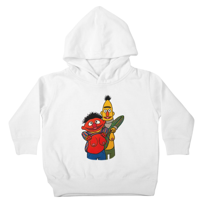 E and B flash Kids Toddler Pullover Hoody by Jim Tozzi