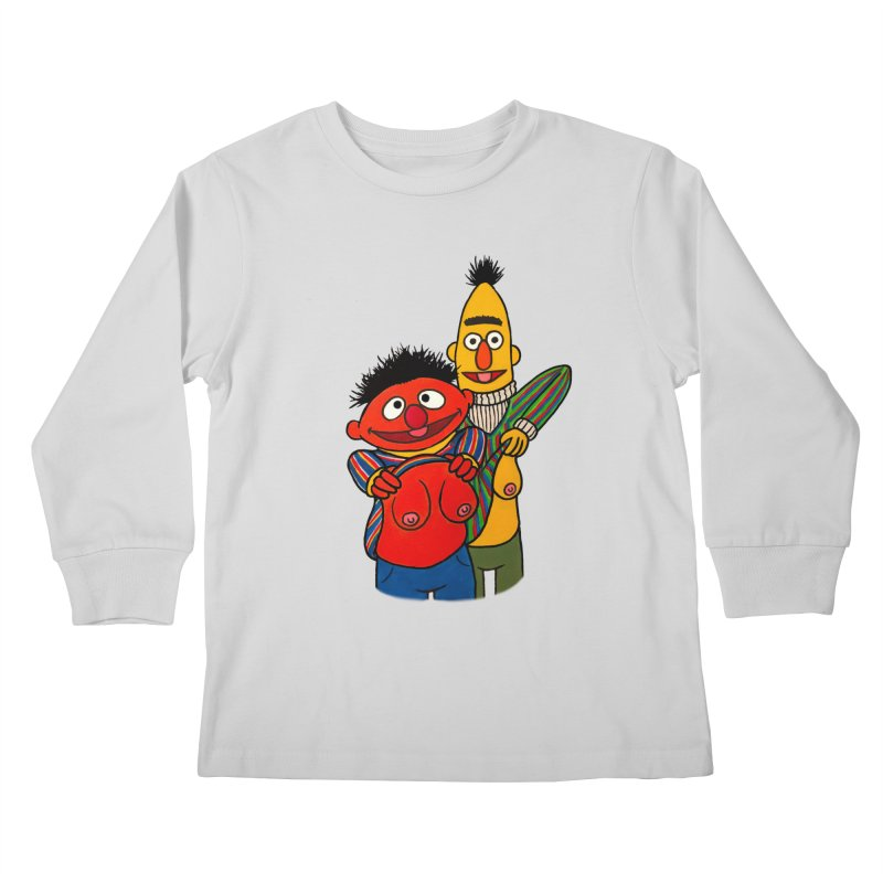 E and B flash Kids Longsleeve T-Shirt by Jim Tozzi