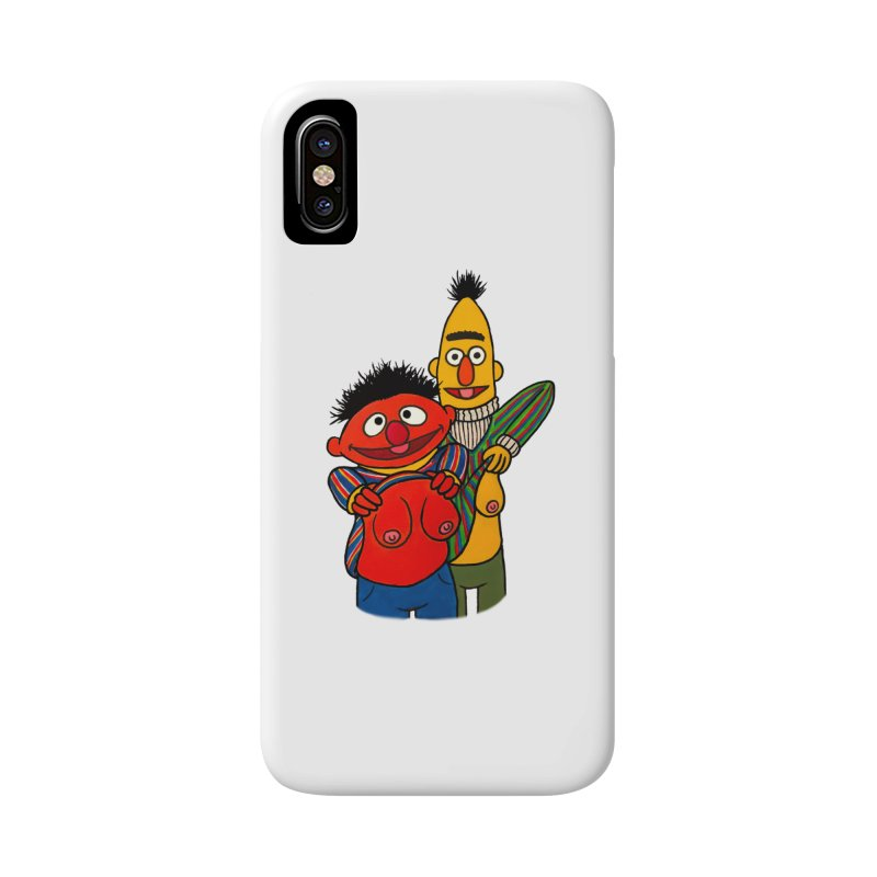 E and B flash Accessories Phone Case by Jim Tozzi