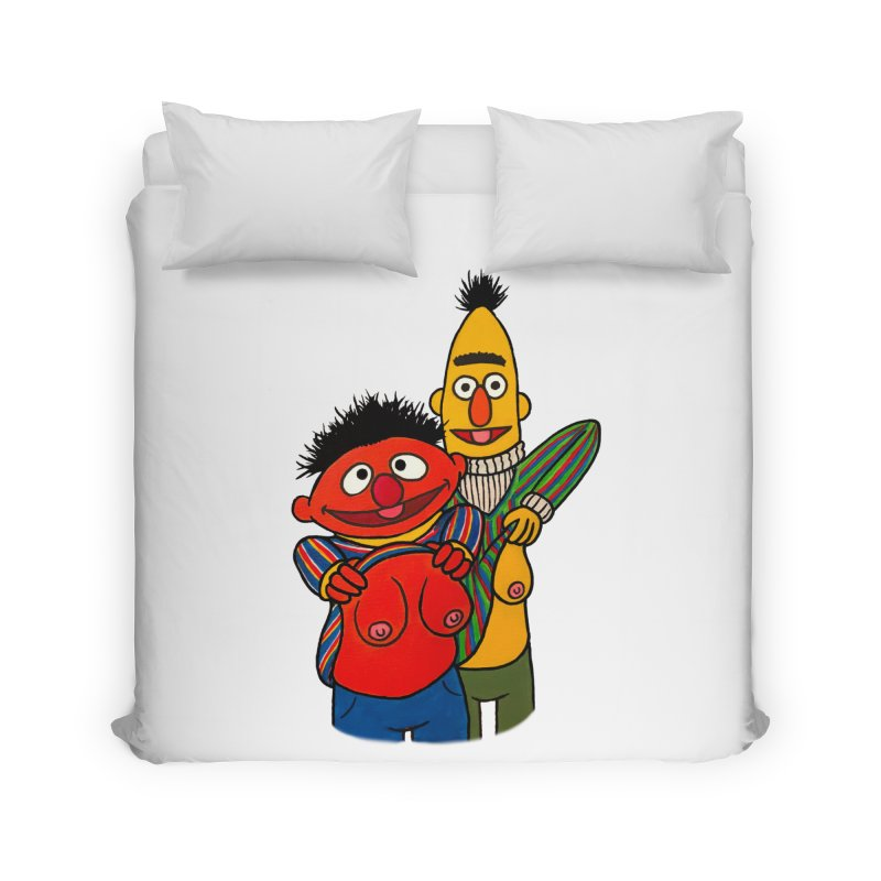 E and B flash Home Duvet by Jim Tozzi