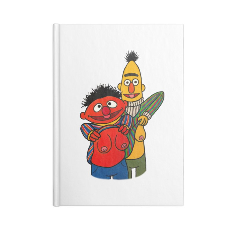 E and B flash Accessories Blank Journal Notebook by Jim Tozzi