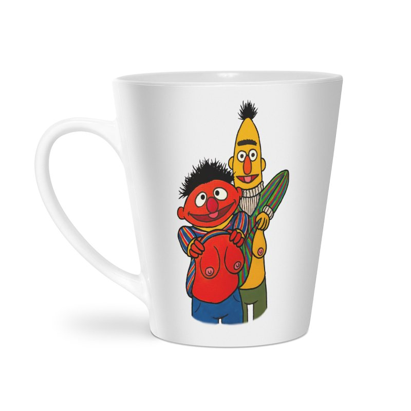 E and B flash Accessories Latte Mug by Jim Tozzi