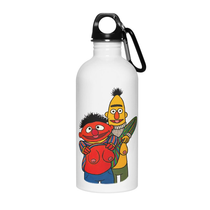 E and B flash Accessories Water Bottle by Jim Tozzi