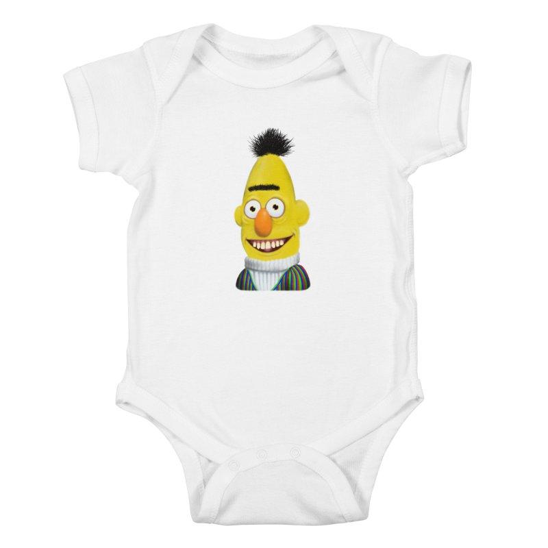 Buurt Kids Baby Bodysuit by Jim Tozzi