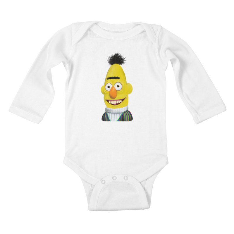 Buurt Kids Baby Longsleeve Bodysuit by Jim Tozzi