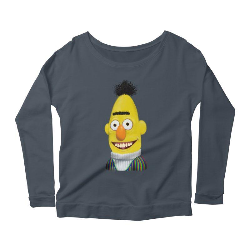 Buurt Women's Scoop Neck Longsleeve T-Shirt by Jim Tozzi