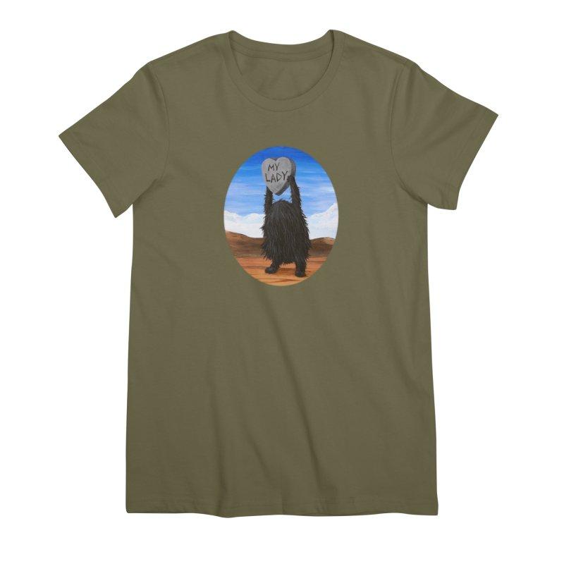 MY LADY Women's Premium T-Shirt by Jim Tozzi