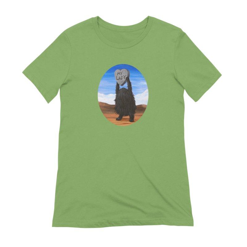 MY LADY Women's Extra Soft T-Shirt by Jim Tozzi