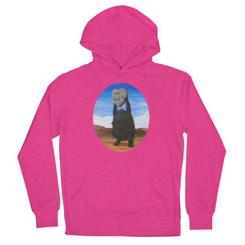 MY LADY Women's French Terry Pullover Hoody by Jim Tozzi
