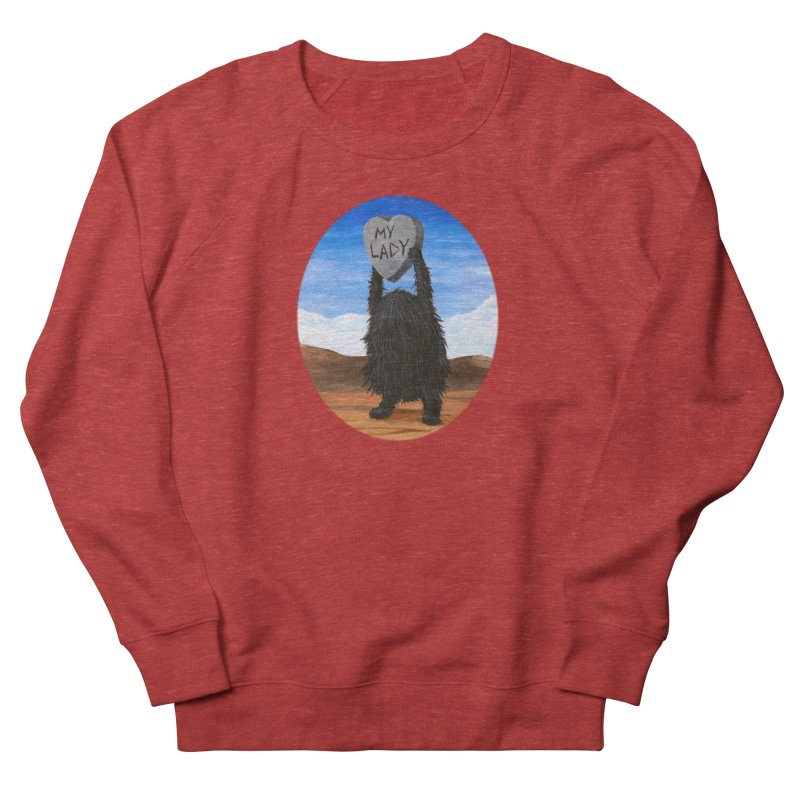 MY LADY Women's French Terry Sweatshirt by Jim Tozzi