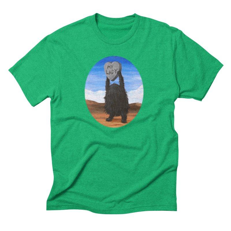 MY LADY Men's Triblend T-Shirt by Jim Tozzi