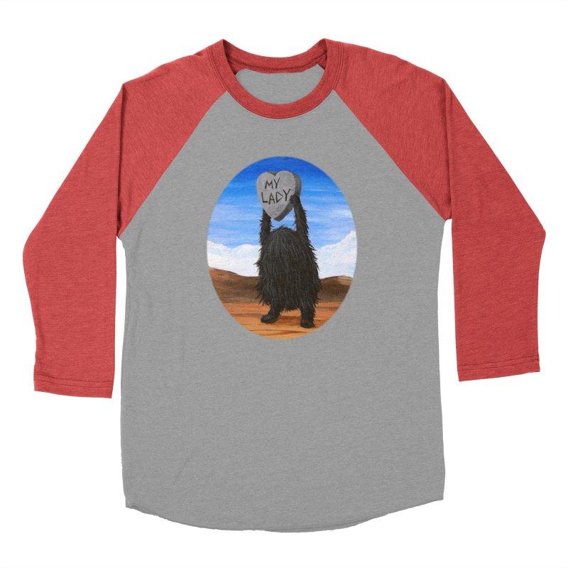 MY LADY Women's Baseball Triblend Longsleeve T-Shirt by Jim Tozzi