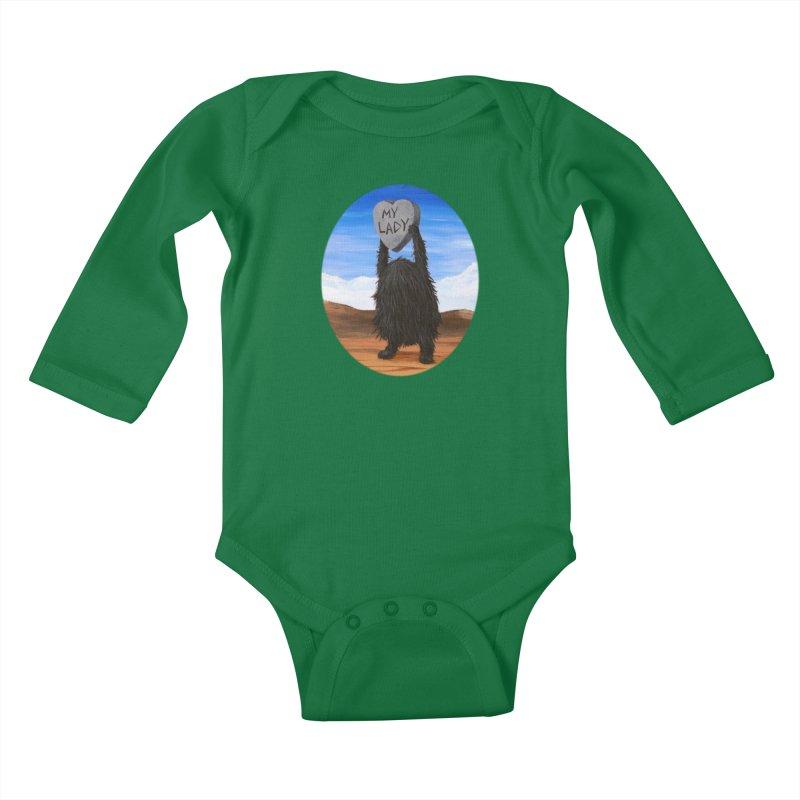 MY LADY Kids Baby Longsleeve Bodysuit by Jim Tozzi
