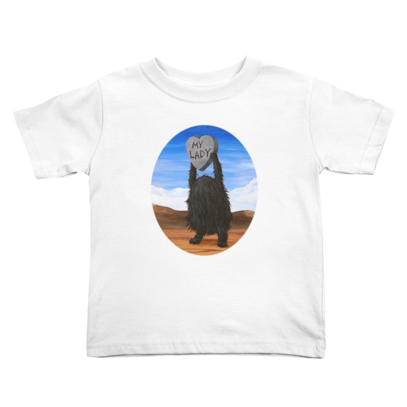 MY LADY Kids Toddler T-Shirt by Jim Tozzi
