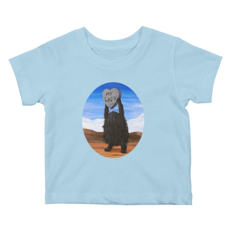 MY LADY Kids Baby T-Shirt by Jim Tozzi