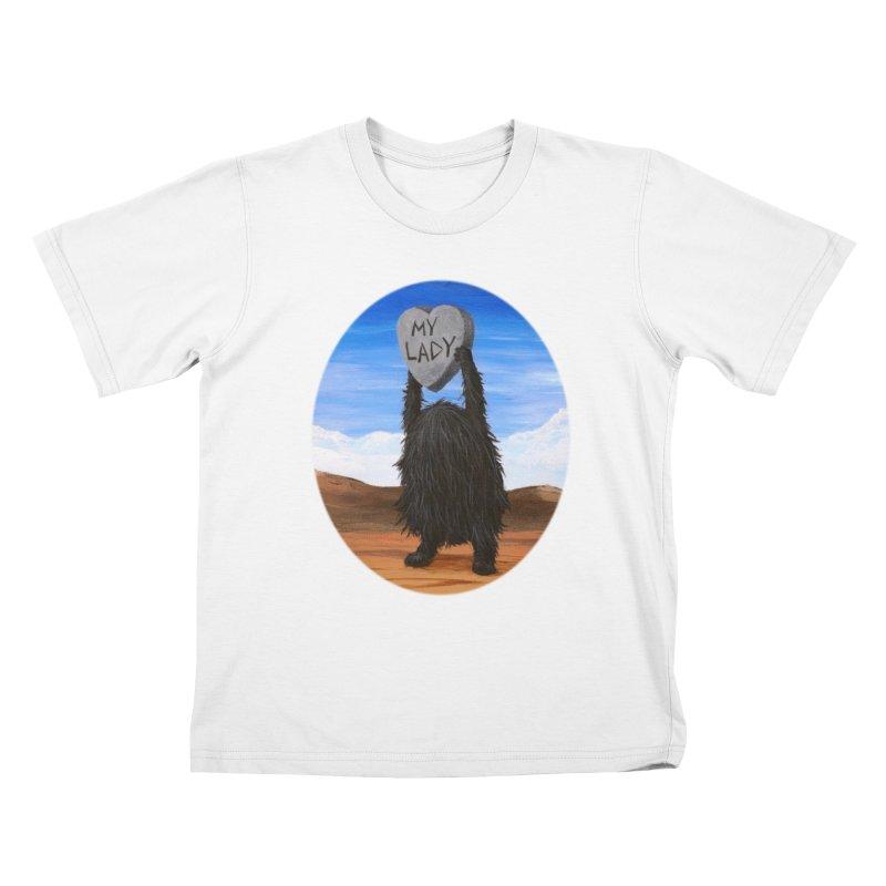 MY LADY Kids T-Shirt by Jim Tozzi