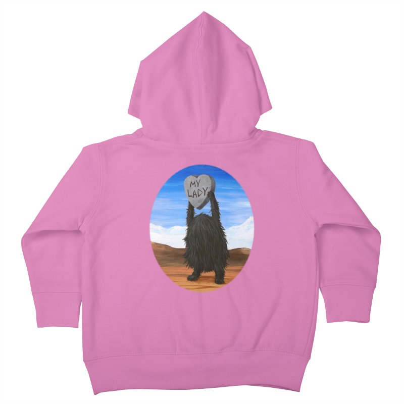 MY LADY Kids Toddler Zip-Up Hoody by Jim Tozzi
