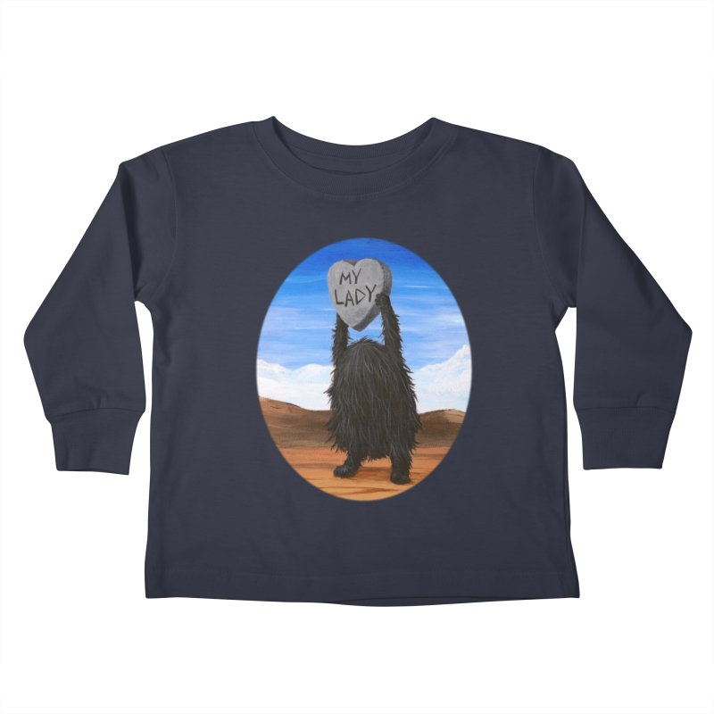MY LADY Kids Toddler Longsleeve T-Shirt by Jim Tozzi