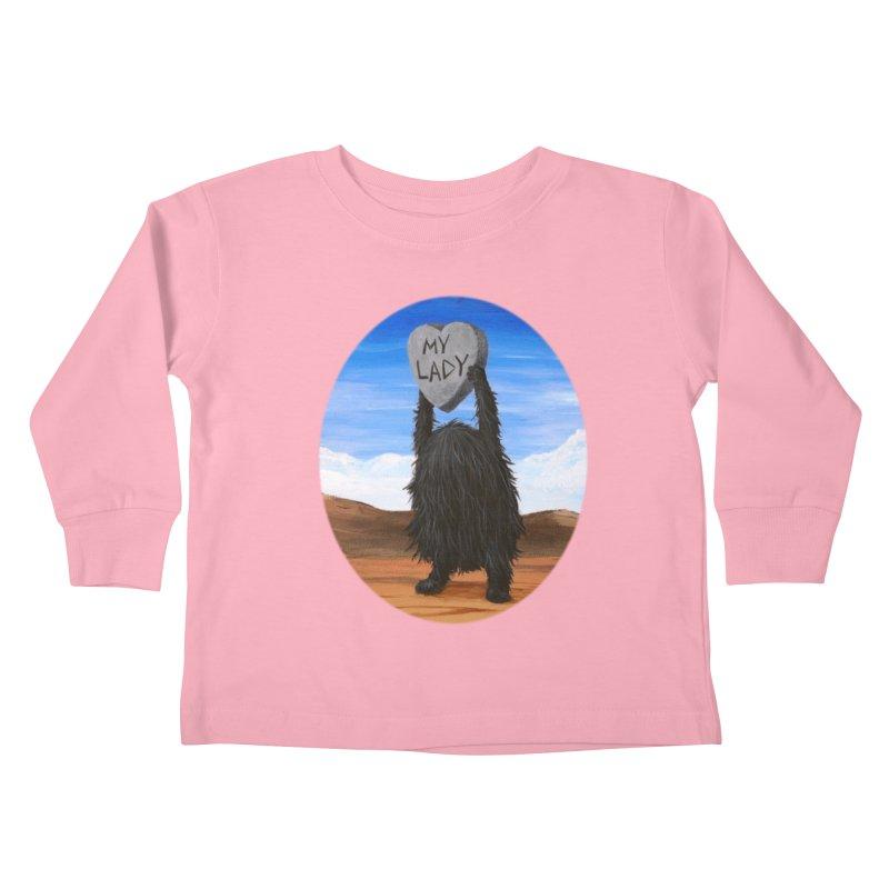 MY LADY Kids Toddler Longsleeve T-Shirt by Jim Tozzi