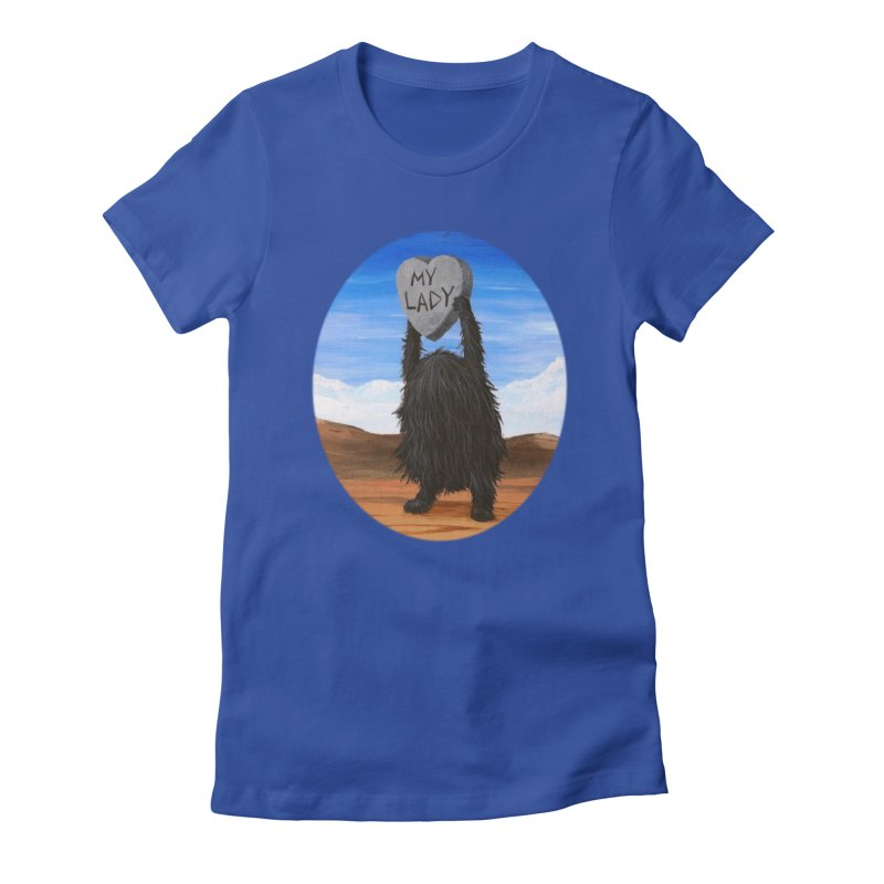 MY LADY Women's Fitted T-Shirt by Jim Tozzi