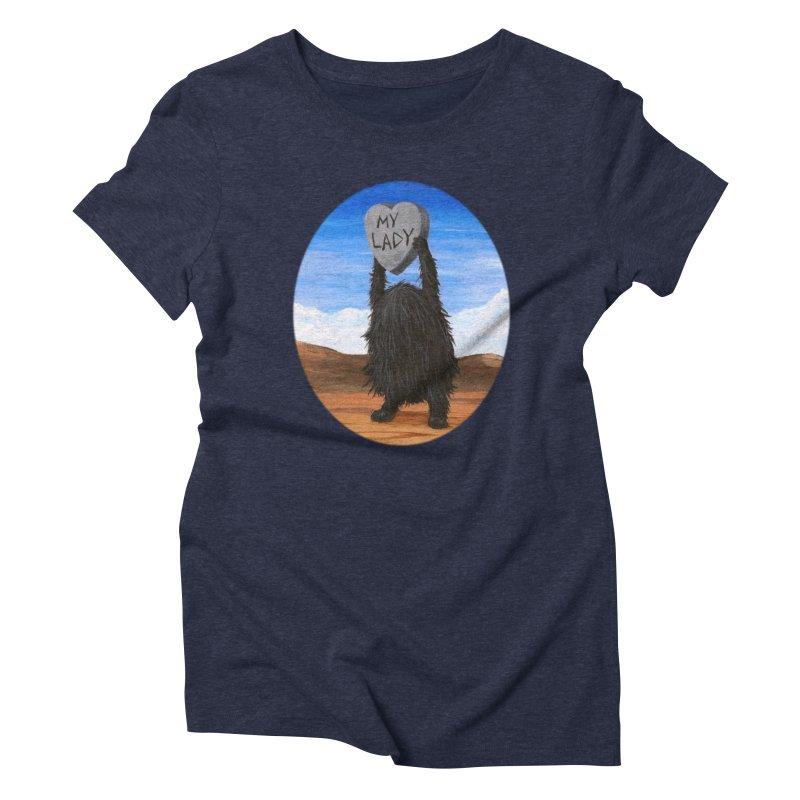 MY LADY Women's Triblend T-Shirt by Jim Tozzi