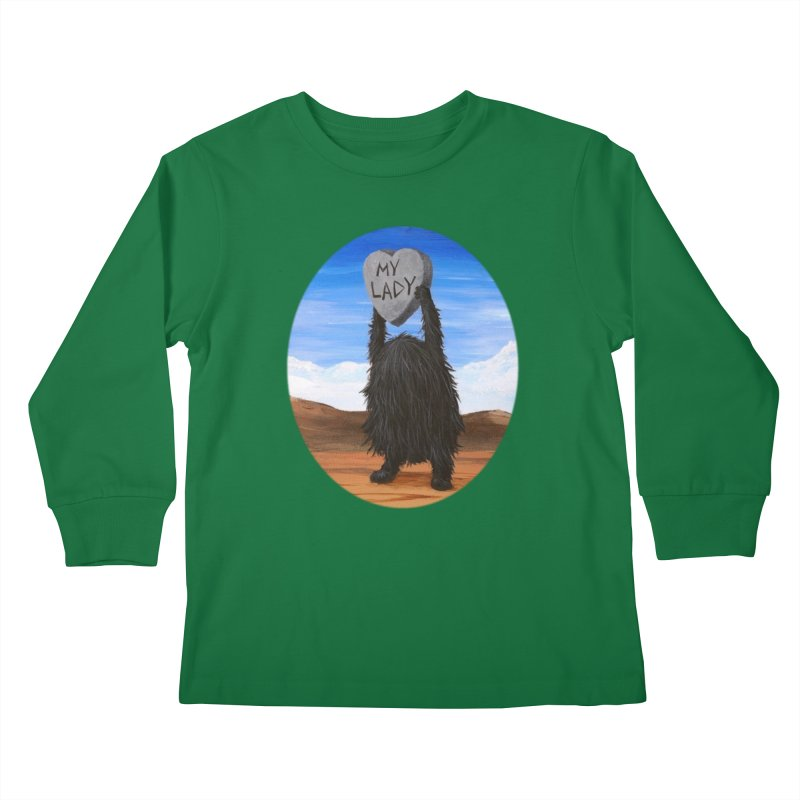 MY LADY Kids Longsleeve T-Shirt by Jim Tozzi