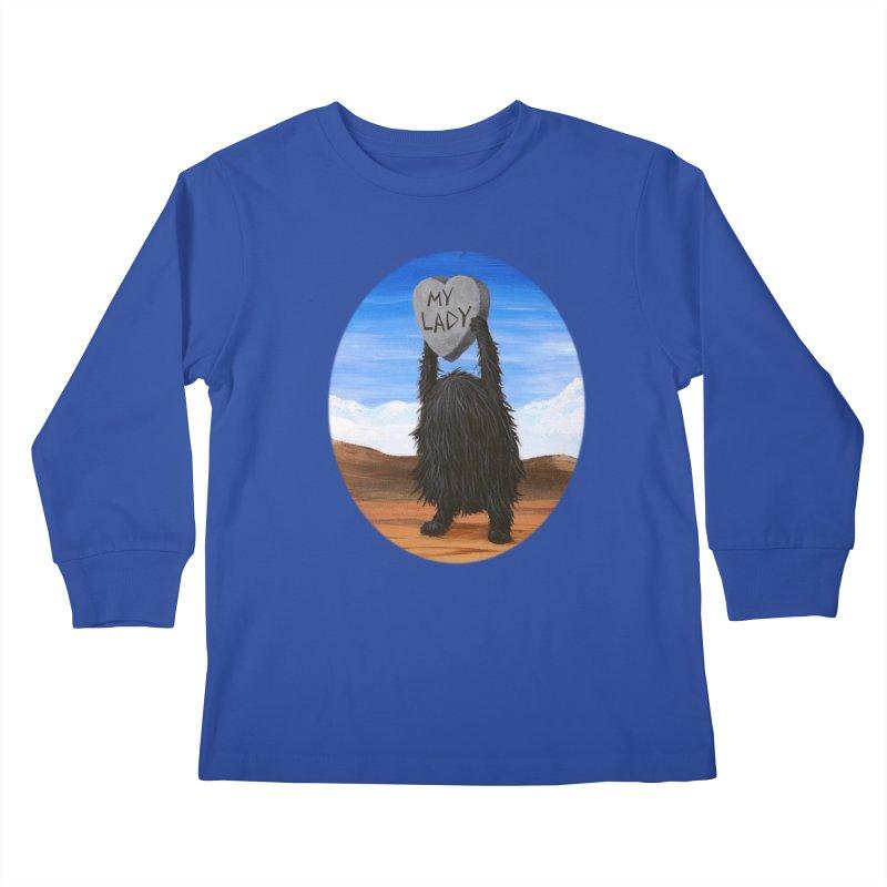 MY LADY Kids Longsleeve T-Shirt by Jim Tozzi