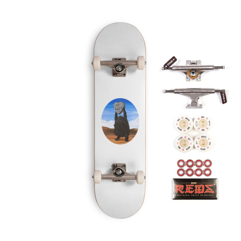MY LADY Accessories Complete - Pro Skateboard by Jim Tozzi