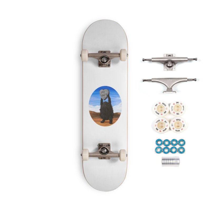 MY LADY Accessories Complete - Premium Skateboard by Jim Tozzi