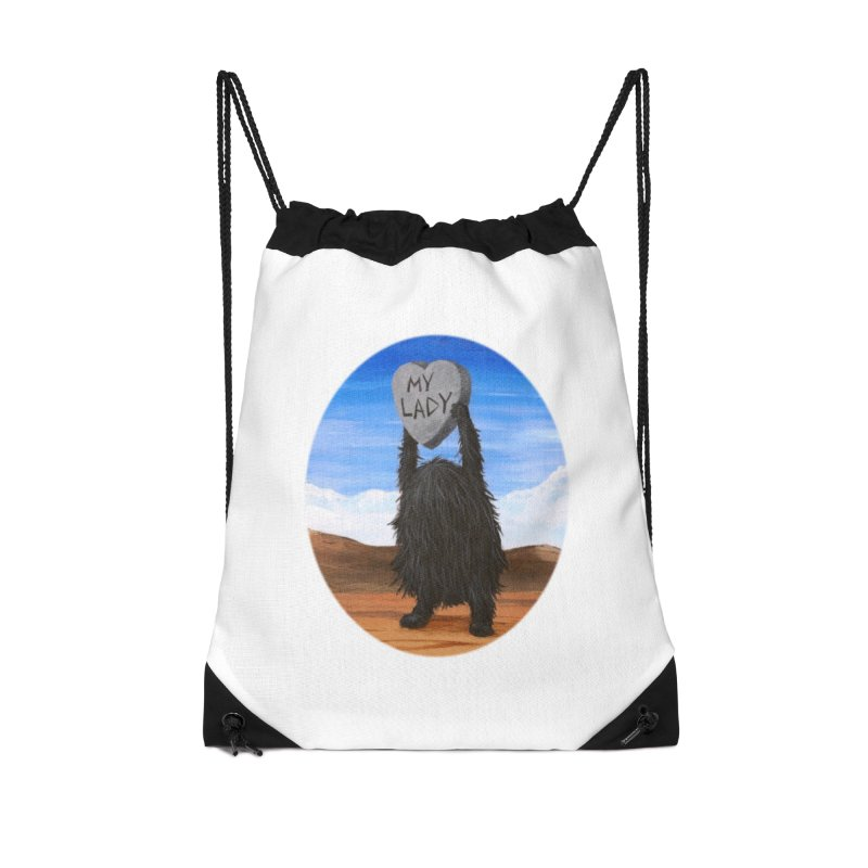 MY LADY Accessories Drawstring Bag Bag by Jim Tozzi