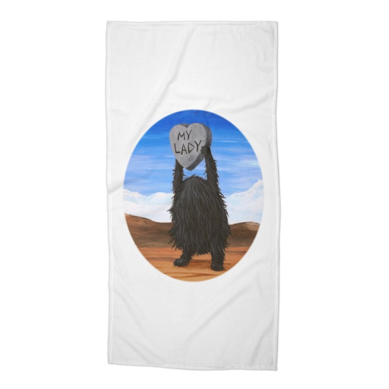 MY LADY Accessories Beach Towel by Jim Tozzi