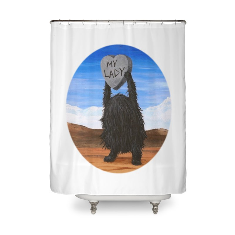 MY LADY Home Shower Curtain by Jim Tozzi
