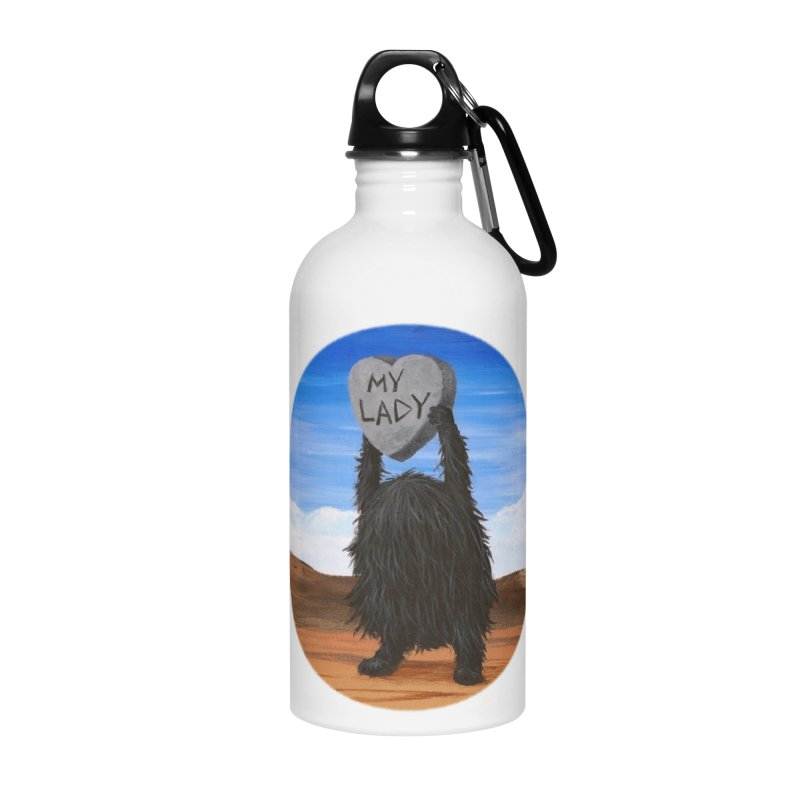 MY LADY Accessories Water Bottle by Jim Tozzi