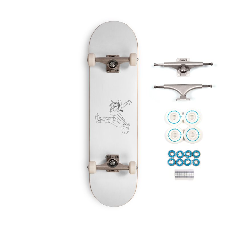I believe I can fly Accessories Complete - Basic Skateboard by Jim Tozzi