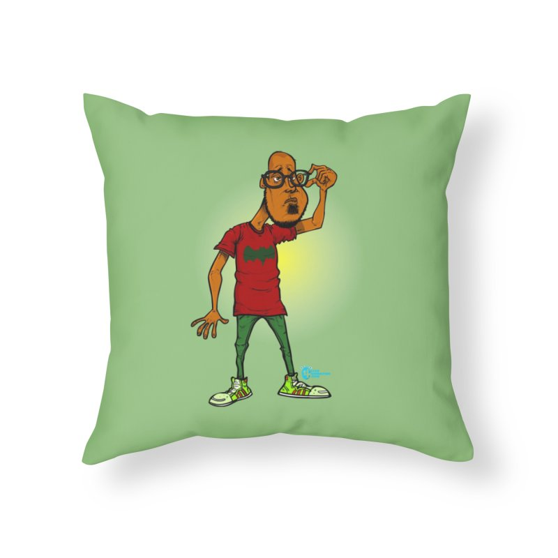 Non Conformist #7 Non Conformist Adjusting Glasses Home Throw Pillow by JoeCorrao4EA's Artist Shop