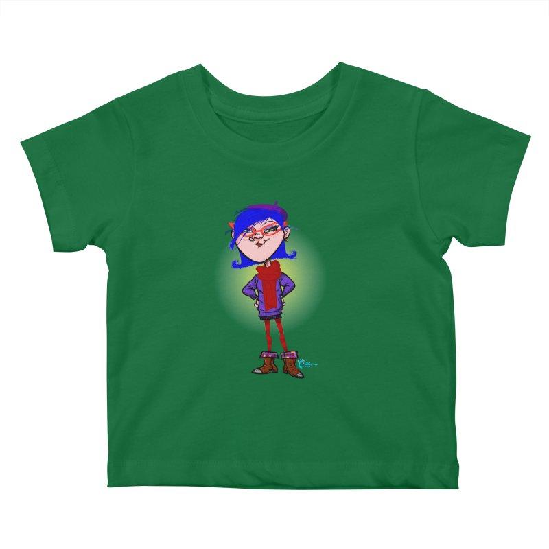 Non Conformist #14 Non Conformist With A Scarf Kids Baby T-Shirt by JoeCorrao4EA's Artist Shop