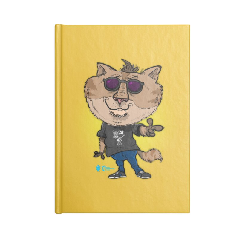 Cat #1 Accessories Notebook by JoeCorrao4EA's Artist Shop