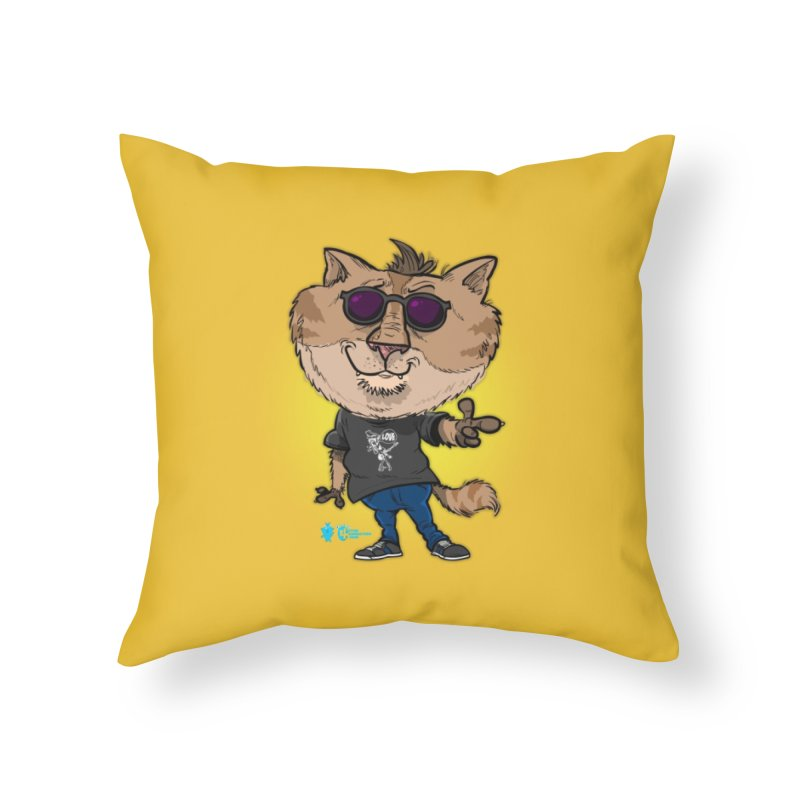 Cat #1 Home Throw Pillow by JoeCorrao4EA's Artist Shop