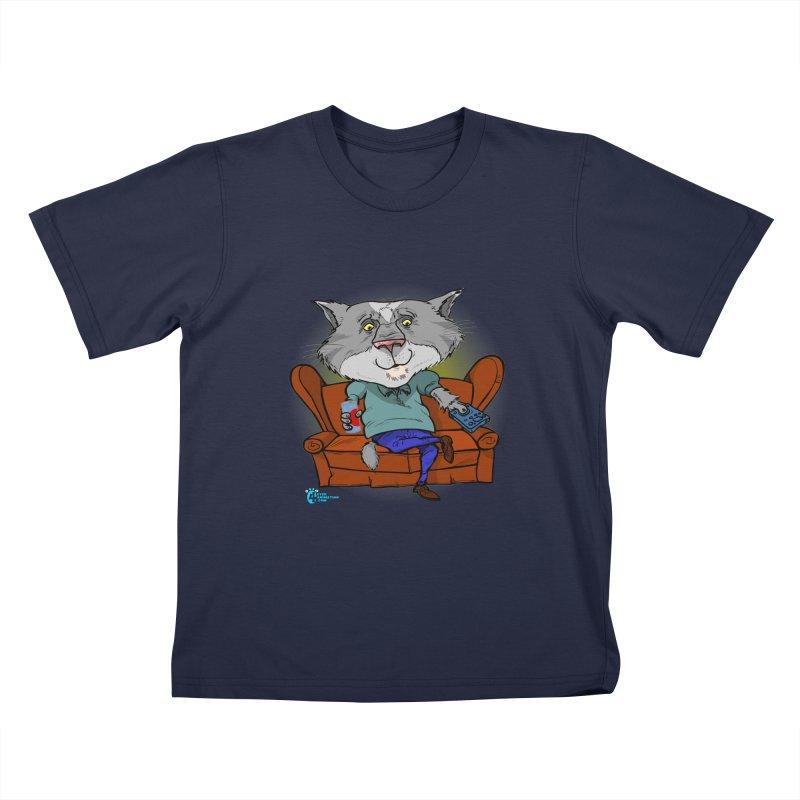 Cat #2 Kids T-Shirt by JoeCorrao4EA's Artist Shop