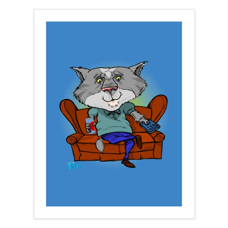 Cat #2 Home Fine Art Print by JoeCorrao4EA's Artist Shop