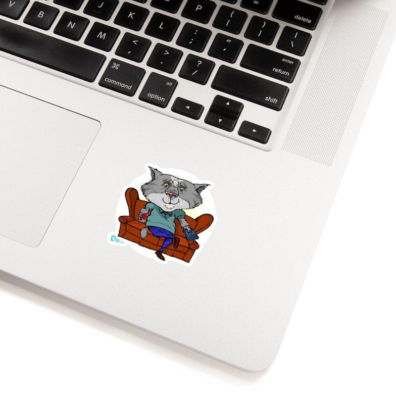 Cat #2 Accessories Sticker by JoeCorrao4EA's Artist Shop
