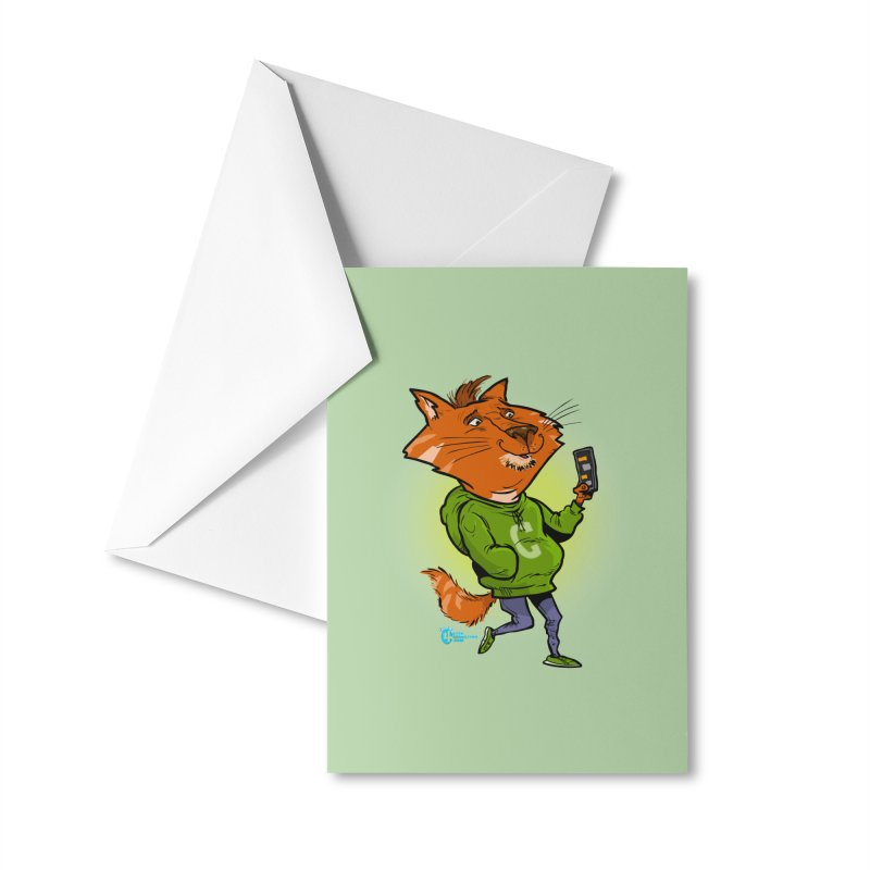 Cat #3 Accessories Greeting Card by JoeCorrao4EA's Artist Shop