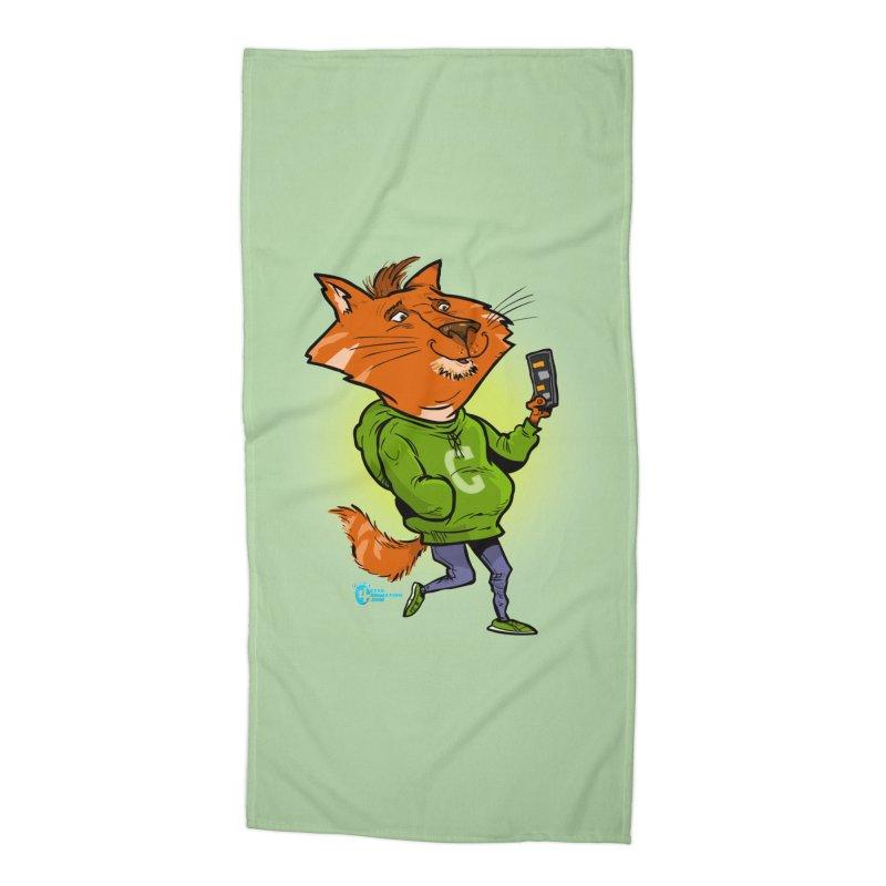 Cat #3 Accessories Beach Towel by JoeCorrao4EA's Artist Shop