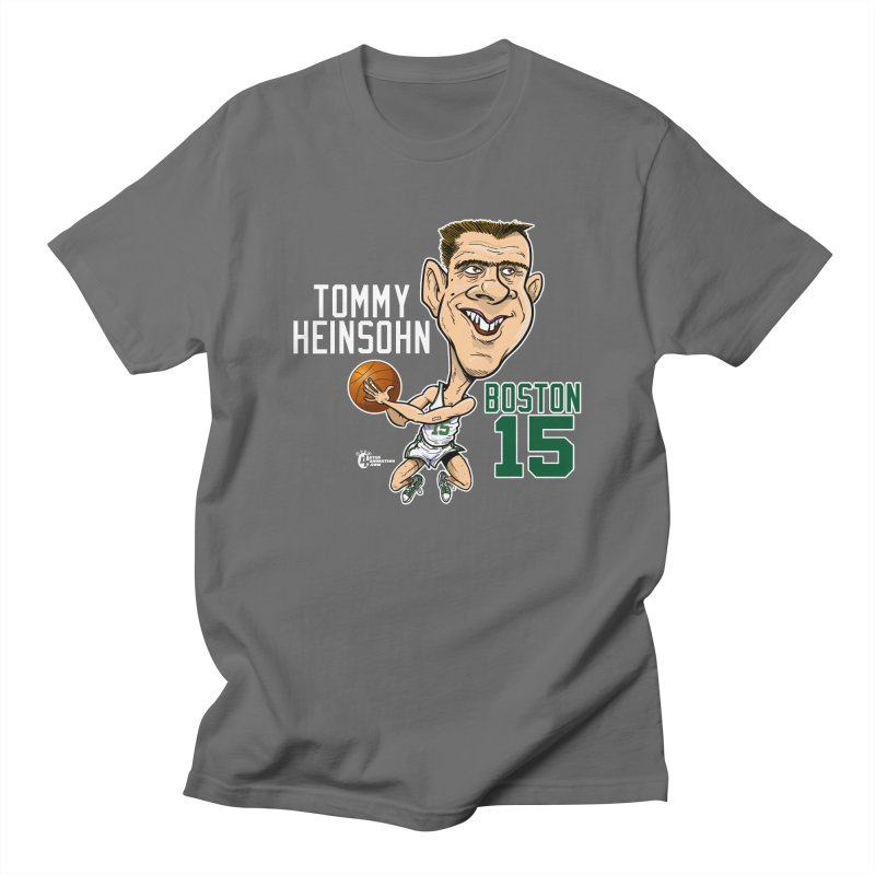 Tommy Heinsohn Men's T-Shirt by JoeCorrao4EA's Artist Shop