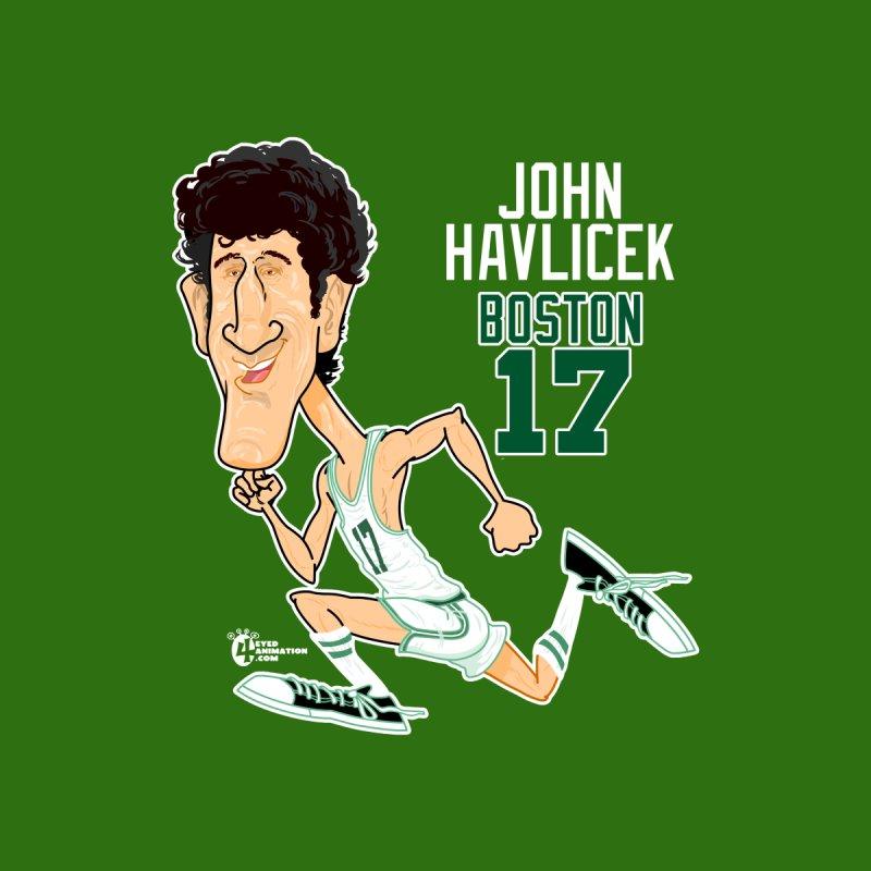John Havlicek Women's T-Shirt by JoeCorrao4EA's Artist Shop